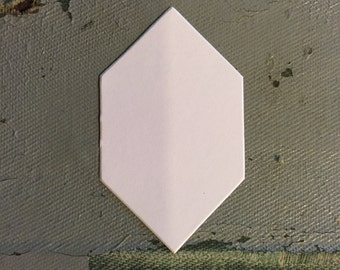 """1"""" Honeycomb Hexagon For English Paper Piecing Shapes  by All Quilty Choose Package Size"""