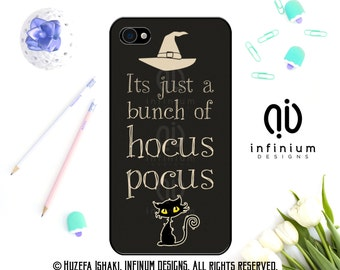 Its Just A Bunch Of Hocus Pocus, Case For iPhone 6S, iPhone SE, iPhone 5, iPod Touch 6, iPhone 6 PLus, iPhone 6, iPhone 5S & iPhone 5C Case