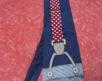 "Vintage Vicky Davis ""Hold On"" Tie"