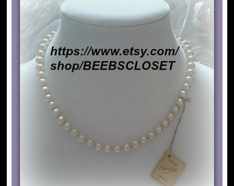 Vintage Majorka pearls made in Spain,Wonderful Wedding Gift or For anyone that love pearls