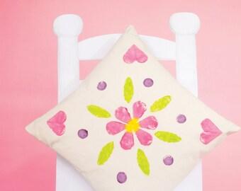 Veggie Print Cushion Sewing Pattern Download 803111