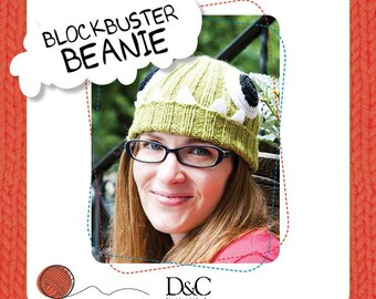 Blockbuster Beanie Knitting Pattern Download 803218