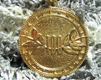 avon 1996 olympic games key ring 22 karat god plated~ centennial olympic games ReDUCED  40 %