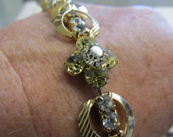 Beautiful Vintage Sarah Coventry Rhinestone Bracelet