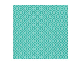 Anna's Garden Pinwheel™  designed by Patrick Lose, Aqua argyle fabric by the yard, teal aqua turquoise fabric