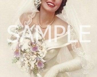 Digital Download *Retro Bride* 5017