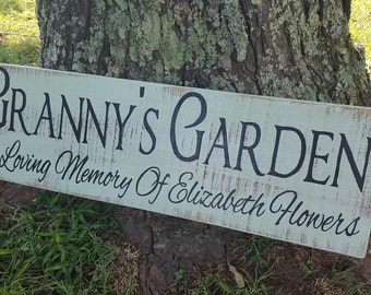 Custom Painted Signs, Painted Signs, Garden Signs, Painted Garden Signs, Custom Sign, Custom Signs, Garden Sign, In Memory Signs, Signs