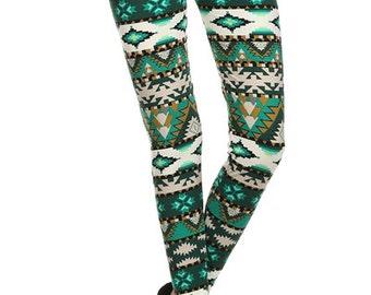 Evergreen Forest - womens leggings