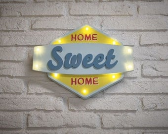Home Sweet Home Light Box Sign