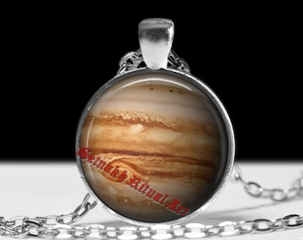 Jupiter pendant Astrology necklace Planet jewelry Magic jewellery #433.5