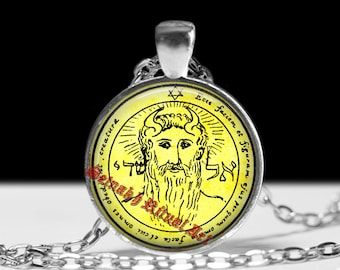First pentacle of the Sun, Metatron pendant, El Shaddai' talisman which is alleged to bring the possessor all things they may desire #103