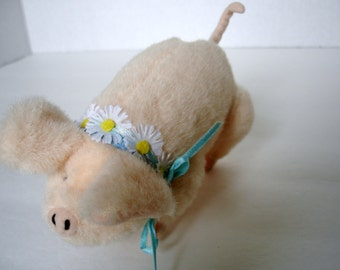 Rudy The Pig Muffy VanderBear's Down On The Farm and Flower Festival Friend Toy Pig Stuffed Pig