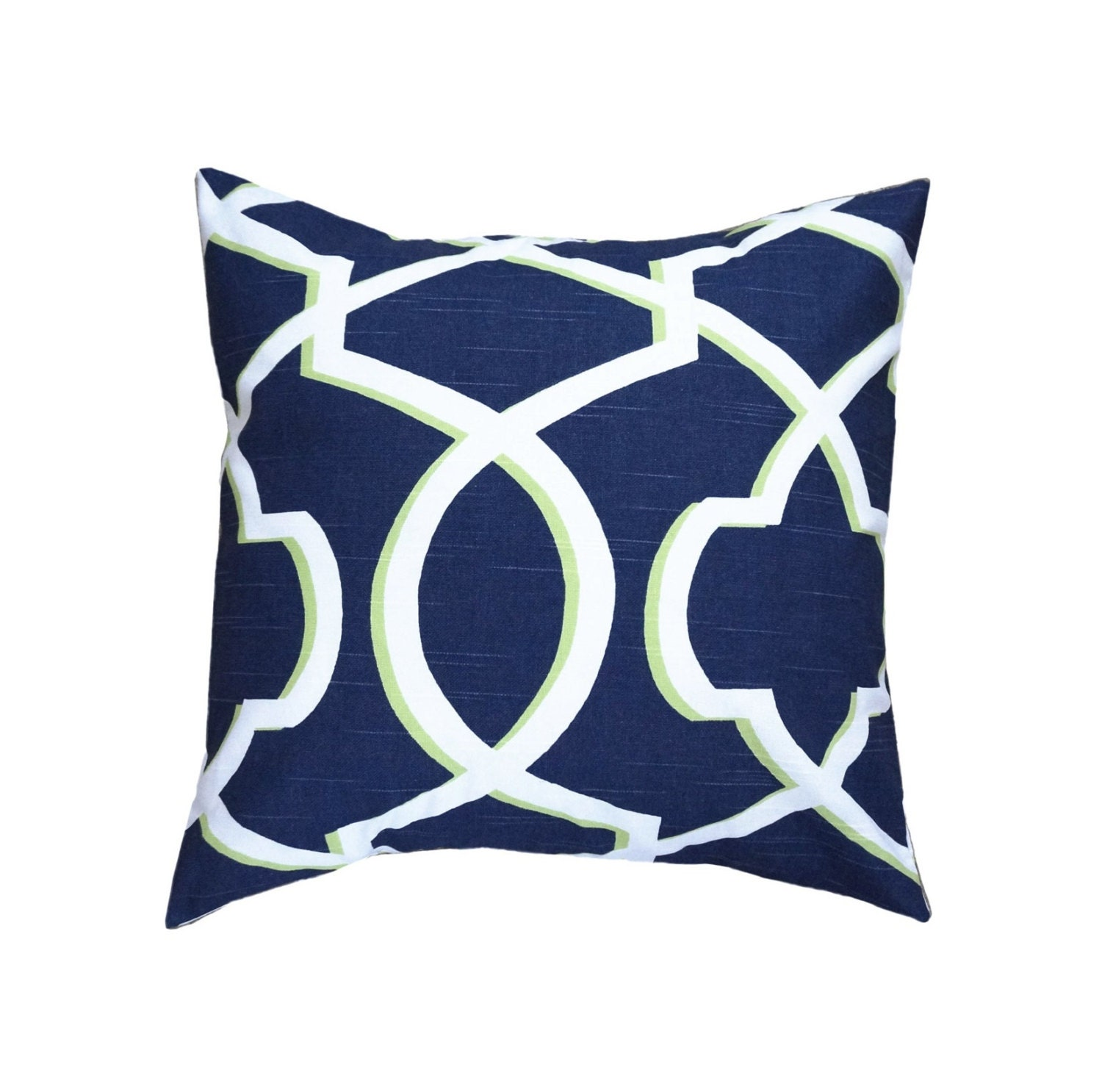 Navy Blue And Green Throw Pillows : Navy Blue Pillow Cover.Blue Green Pillow.Peacock Color Throw