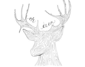 Oh Dear Print