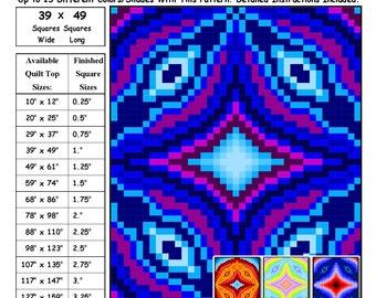 0148 Circular Distortion Quilt Pattern