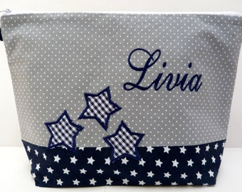 Cosmetic bag *with your name*