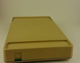 The Original Apple Macintosh Beige 1984 Modem (BCG794 Modem 1200) with Apple Serial Data Cable