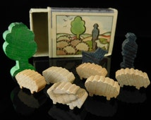 Unique Wooden Farm Toys Related Items Etsy