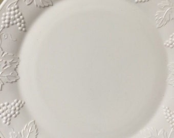 Milk glass large platter