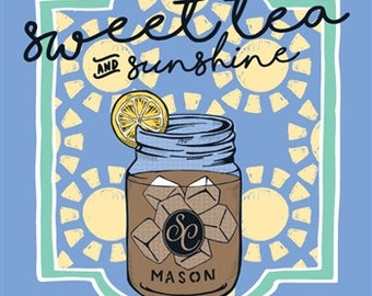 Southern Couture - T-Shirt- Adult - Sweet Tea & Sunshine