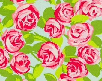Tumble Rose | Standard Crib Sheet | Changing Pad Cover | Minky Blanket | Floral Nursery | Baby Girl Nursery | Pink