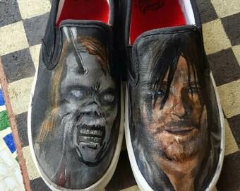 The Walking Dead Vans daryl zombie