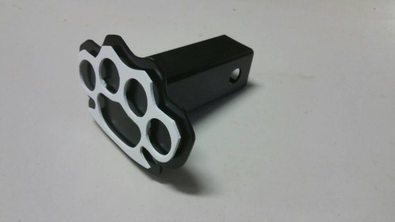 Knuckles trailer hitch cover