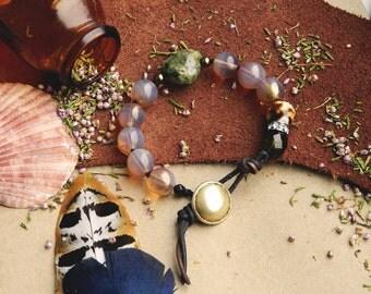 Bohemian bracelet, Western weaving bracelet, pink bohemian bracelet, Nude Wrap Bracelet