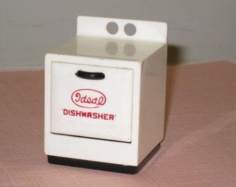 Vintage IDEAL DISHWASHER Dollhouse Furniture - Kitchen Appliance