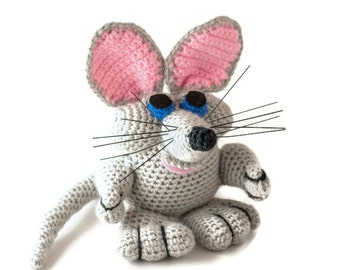 Mouse Stuffed Animal - Toys for Children - Plush mouse - Toy Animals - Plush Animals - Stuffed Animal Mouse - Best Stuffed Animals - Mouse