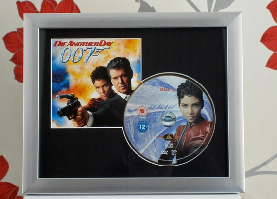 Die Another Day - Pierce Brosnan Halle Berry Judi Dench - Mounted Framed DVD