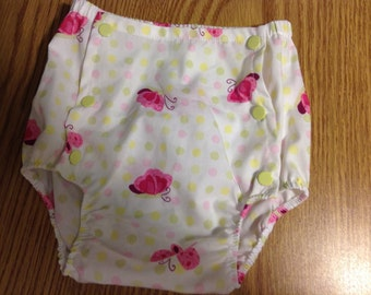 Pink Butterflies Bloomers   Toddler size