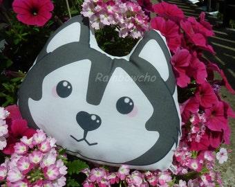 Decorative cushion / plush Husky