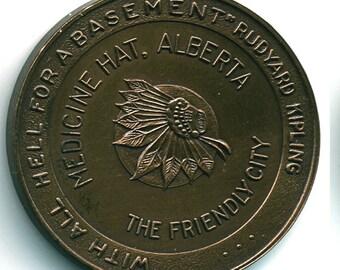1967 Medicine Hat, Alberta Centennial Medal