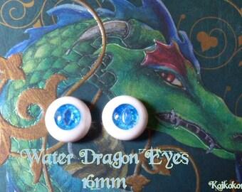 Handmade 16 mm-Water Dragon Eyes eyes