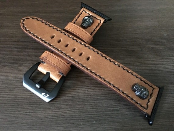 Apple Watch Band | Apple Watch Strap | Vintage Leather Watch Band | Vintage Leather Watch Strap For Apple Watch 38mm & Apple Watch 42mm