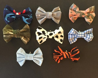 Clip On Baby Bow Ties - Patterns