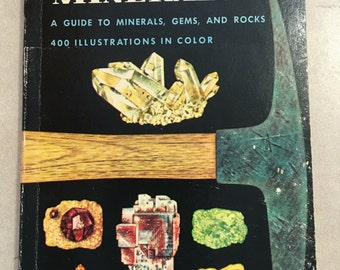 Rocks and Minerals: a golden nature guide 1957