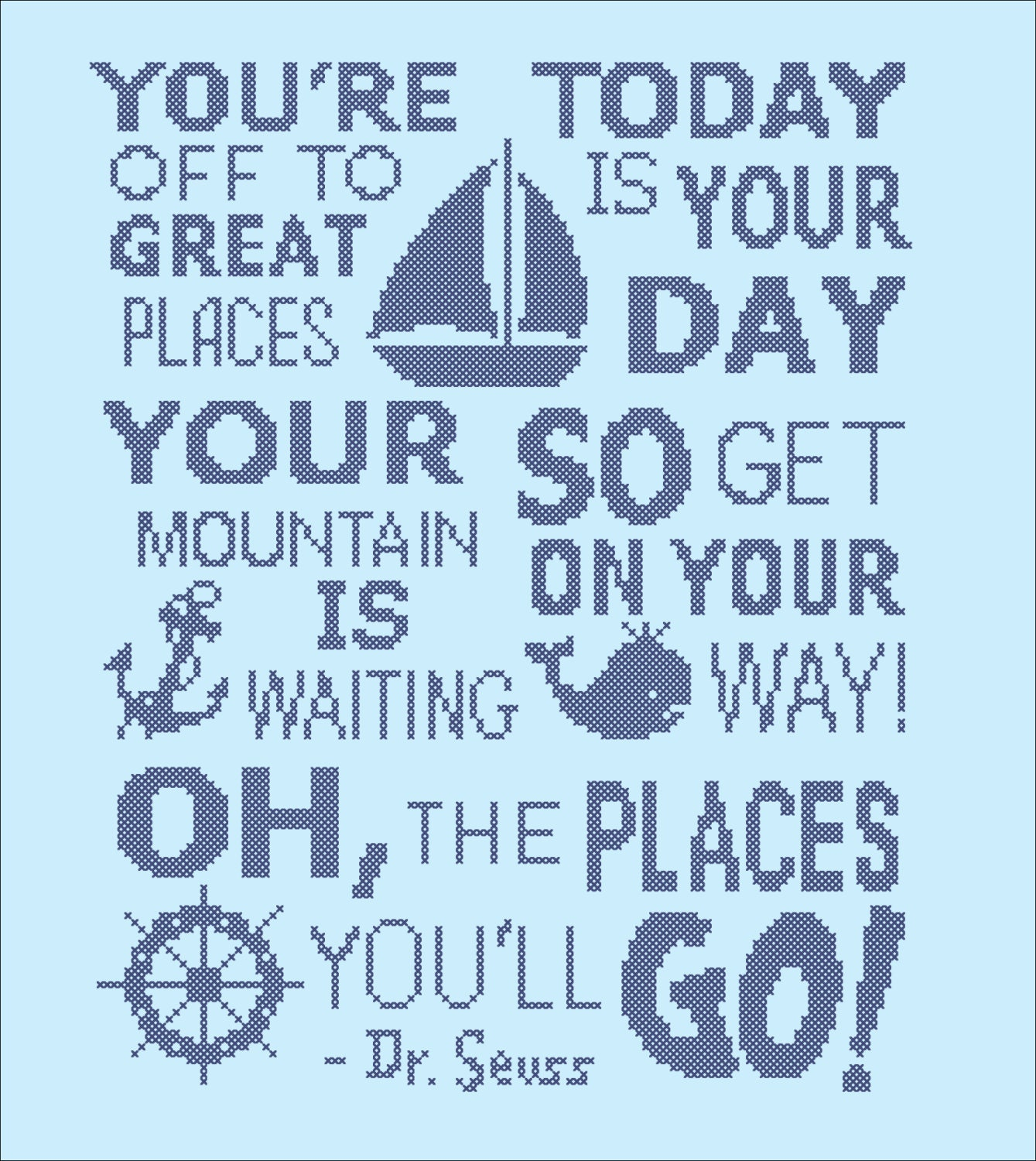 Dr Seuss Mountain Quote: BOGO FREE Dr. Seuss Quote Oh The Places You'll