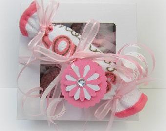 Baby Gift, Baby Cupcakes, Shower Gift, Baby Girl Gift, Baby Boy Gift, Unique Baby Gift, Baby Gift Set, Washcloth Cupcakes, Onesie Cupcakes