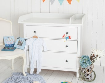 XXL ExtraRound + Separation! Changer, Changing Table Top In White For All  IKEA