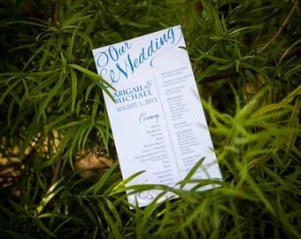 Custom Wedding Stationary Suite