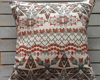 Aztec Pillow Sham, Envelope Pillow Sham, Standard Size Sham