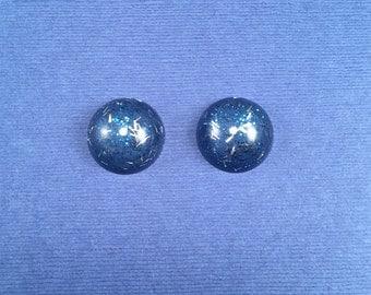 SALE! Confetti Lucite Small Round Sparklite™ Earrings