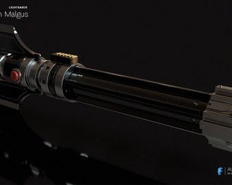 3D model DARTH MALGUS LIGHTSABER