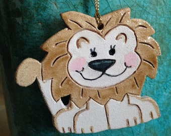 Lion ornament adpi ornament alpha delta pi ornament lion Christmas ornament