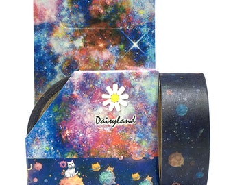 Washi Tape 10m Cat Galaxy SM332925