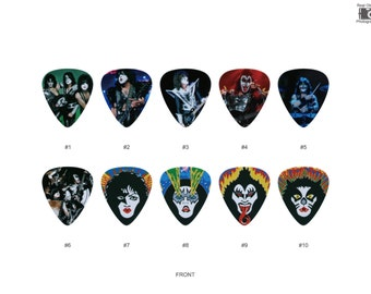 KISS Guitar Pick Set (10pcs)