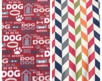 Fleece Medium Dog Blanket(D124)