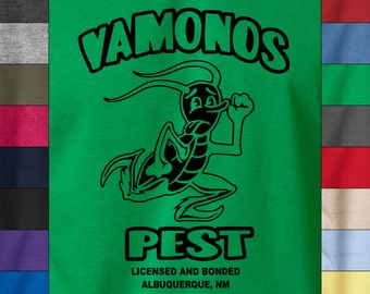 Breaking Bad VAMONOS PEST Albuquerque New Mexico Soft Ringspun Cotton T-Shirt